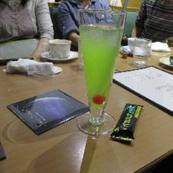 青リンゴジュース