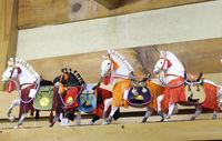 5月節句の出世馬飾り ~出し飾り~ ケース無しの飾りになります。収納が小さくなります。
