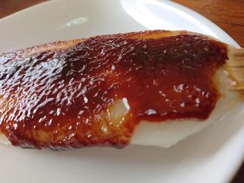お昼に五平餅【産直プラザ】