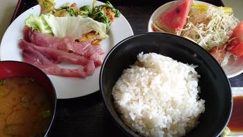 あの店長さんも600円日替り食べに ご来店【喫茶 あいかむ】