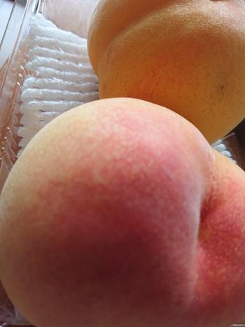 今日の桃は?【産直プラザ】