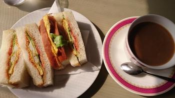 モーニング(350円以上の価値)と日替りは‥【喫茶 あいかむ】