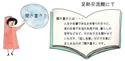 はじめての『聞き書き』補習講座参加者募集!