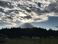 富士山! 2018/09/24 08:50:03