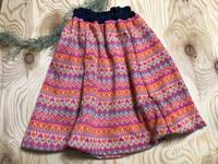 娘のスカート