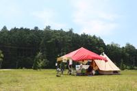 恵那に母子キャンプ