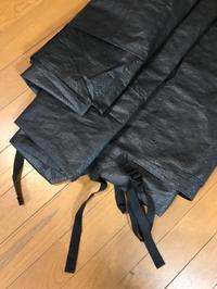 ゼインアーツのゼクーのグランドシートの縫製を承りました 2019/09/24 22:56:09