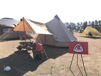 渚園 キャンプ場でローベンス会