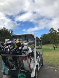 初めてのゴルフコンペ