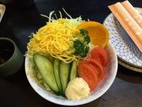 これが野菜サラダだぁ!