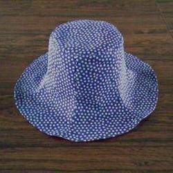 ドット帽子