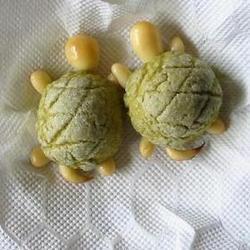 亀型メロンパン