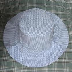 ストライプの帽子