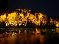 香嵐渓特別ライトアップ