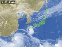 台風で出船中止