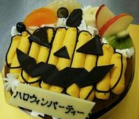 ハロウィンデコレーションケーキ