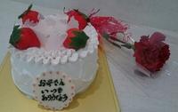母の日シフォンケーキ