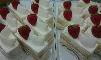 紅ほっぺのショートケーキ