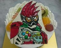男の子のヒーロー☆キャラクター☆バースデーケーキ 2016/10/18 18:52:41