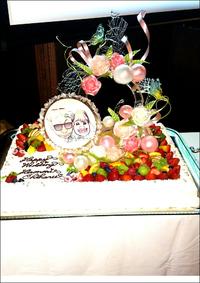 二次会用ケーキ