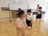 リトミック英語 園児クラス 4月14日