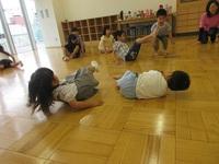リトミック英語 園児クラス 6月9日