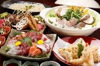 おひとりずつお料理が出てくる会席コース☆ご自分のペースでどうぞ!豊田市で宴会は当店へ。 2017/05/29 17:19:59