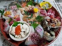刺身盛り合わせも配達します!内容リクエストもどうぞ♪豊田市魚料理 仕出し 2017/10/22 09:00:00