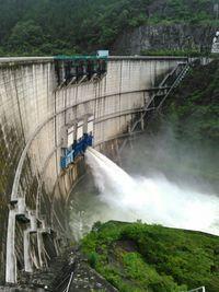 矢作川の水温低下