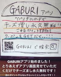 GABURI、アプリ始めました