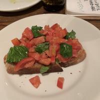 フルーツトマトのブルスケッタ