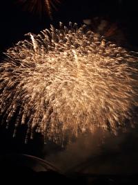 チャコールから豊田市駅まで(笑) 花火ちょっと見にいきました