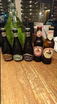 イタリアビール 全種類チャレンジするのも楽しいですね