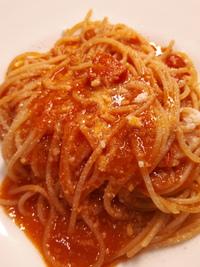 シンプルなトマトパスタ‼