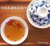 【募集中】中国茶講座〜はじめての中国茶〜二期生