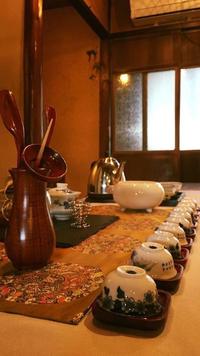 「中国茶講座と秋の味覚ランチ」終了しました