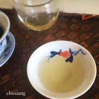 石榴の茶器と試飲