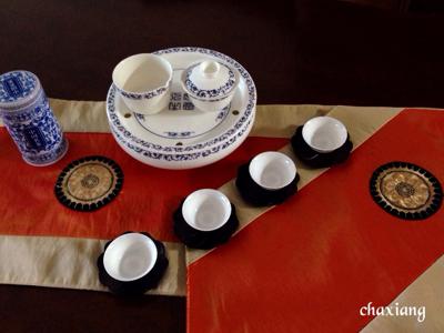 「新緑の中国茶会」満席のお知らせ