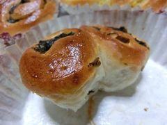 おうちパン 野沢菜ときんとんのちぎりパン2種