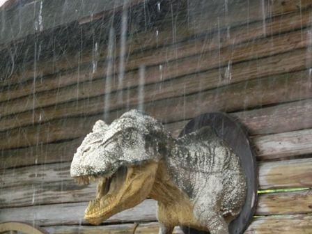 雷が怖かったよ!