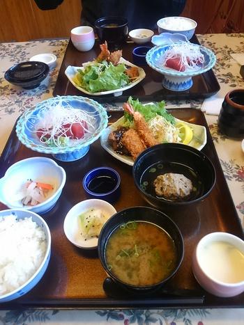 日本料理・梅庄でランチ(幡豆)