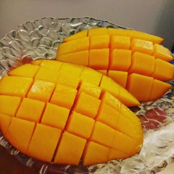 沖縄マンゴー美味しいよ~♪