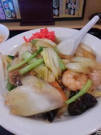 ド美味かった中華飯@風味定食屋(メグリア本店)