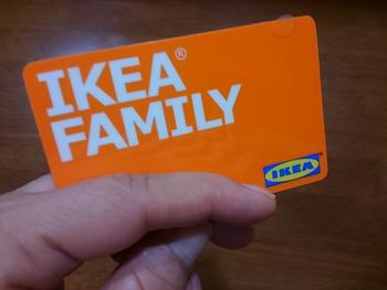 IKEA FAMILYカードが届きました♪