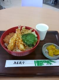 丼や七五郎で天丼(豊田市)
