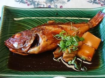 ちょっと贅沢に煮魚定食@梅庄(西尾市幡豆)