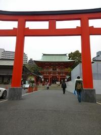 神戸旅③生田神社~行き当たりばったり昼ごはん