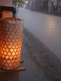 この夏のなんでやねん!Part①豪雨の中のたんころりん
