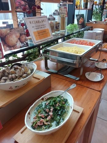 イタリアンビュッフェ@森の食卓・銀の森(恵那市)