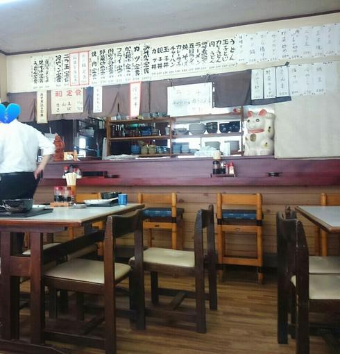 青山食堂でランチ(豊田市)